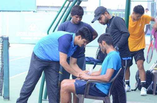Physiotherapy Consultancy for Fenesta Lawn Tennis National Championship