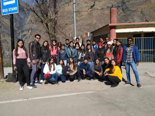Department of Physiotherapy Trip to Auli-13