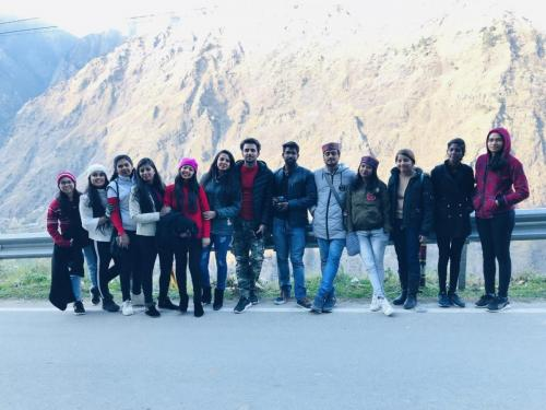 Department of Physiotherapy Trip to Auli-3