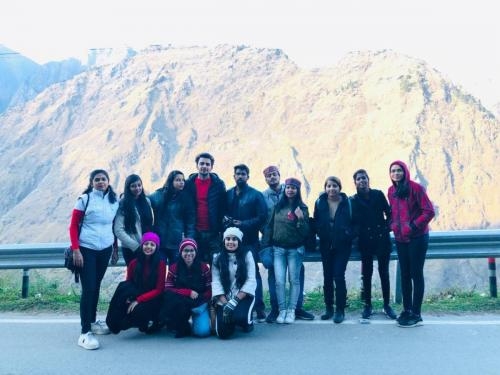 Department of Physiotherapy Trip to Auli-4