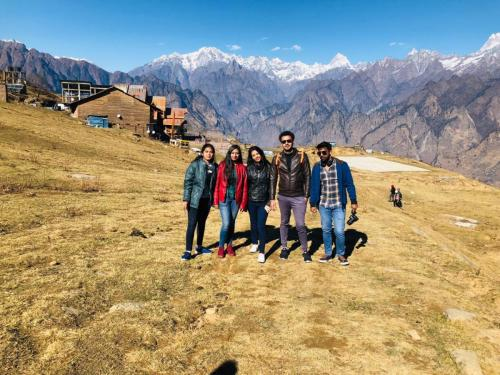 Department of Physiotherapy Trip to Auli-5