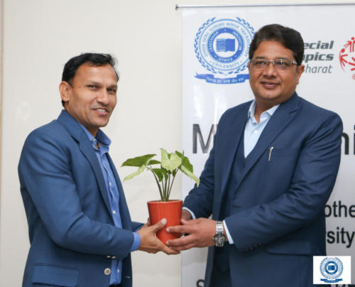 MOU with Special Olympics Bharat