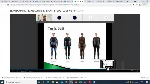 Biomechanical analysis in sports
